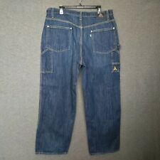 Levi's Silver Tab Carpenter Relaxed Fit Straight Leg Mens Jeans Size W38 L31""
