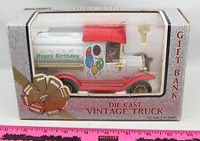 K-Line Vintage Truck gift bank Happy Birthday