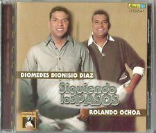 Siguiendo Los Pasos Diomedes Dionisio Diaz Rolando Ochoa  Latin Music CD New