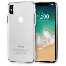 Schutzhülle für Apple iPhone X 10 8 & Plus Slim Silikon Hülle Case Back Cover