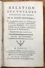 Cook / Relation des voyages entrepris par ordre de sa Majesté britannique / 1774