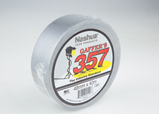 Nashua 357 Gaffa 2 Rolls 48mm x 40m Silver Gaffers Tape FREE FAST POST