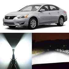 Alla Lighting Headlight 9003 White LED Bulb Conversion Kit for Nissan Cube Versa