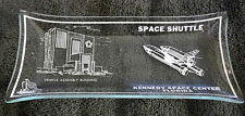 Kennedy Space Center Florida Vehicle Assembly Building Glass Candy Ash Tray