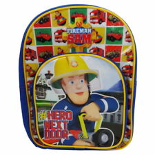 Fireman Sam Boys Character Backpack School Nursery Bag  Free P&P