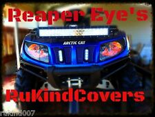 Arctic Cat mudpro Reaper EYES Head light Covers RuKindCovers