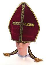 RELIGIOUS POPE PONTIFF HAT FANCY DRESS COSTUME ACCESSORY