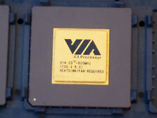 VIA C-3 600 Mhz SOCKET 370 CPU@FULLY TESTED & WORKING@PGA 370@COLLECTABLE@RARE