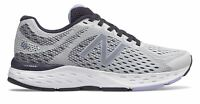 New Balance Women's 680v6 Shoes Grey with Purple