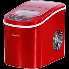 MagicChef Ice Maker, 27 lbs/day, Portable, Red