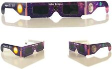 Solar Eclipse 2017 Glasses Galaxy Edition CE and ISO Standard 1 Pair