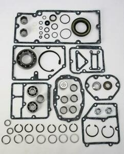Harley 5 Speed Transmission Master Gasket Bearing Rebuild Repair Kit 74036