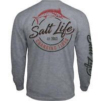 Salt Life Changing Tides Mens Long Sleeve Pocket T-Shirt - 2XL/XL/Large - NWT
