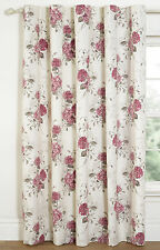 SkylineWears Floral Printed Blackout Window Door Rod Pocket Top Curtains 1 Panel