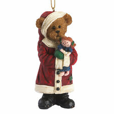 Boyds Bears Primitive Santa Bear Christmas Ornament ~ Kringle Klausbeary 4041894