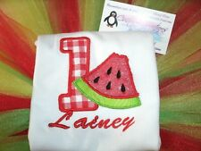 Watermelon 1st Birthday Personalized Birthday Shirt