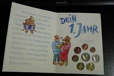 Deutschland 2003 KMS Babyset + Ag Medaille