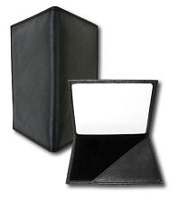 MEN'S BLACK ID AND BUSINESS CARD PSYCHIC PAPER WALLET - AS SEEN ON DOCTOR WHO