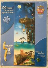 NEW & SEALED ~ MASTER PIECES * ISLAND OF DREAMS * 500 PIECE JIGSAW PUZZLE ~