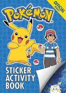 Pokemon Sticker Activity Book