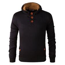 Men's Winter Autumn Hoodie Warm Hooded Sweatshirt Coat Jacket Outwear Sweater