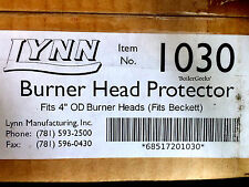 Lynn 1030 Ceramic Fiber Burner Head Protector--Burner Blast tube head protector