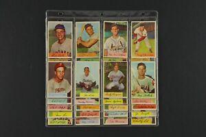 Lot of 39 1954 Bowman Baseball Cards w/ Kiner