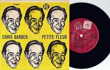 Chris Barber ORIG OZ EP Petite fleur VG+ '58 Trad Jazz Dixieland Pye PEP002