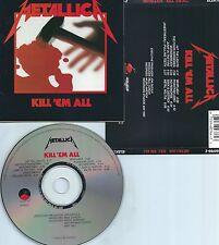 METALLICA-KILL 'EM ALL-1983-USA-E/M VENTURES/ELEKTRA REC.60766-2  RE-3 01-CD-M-