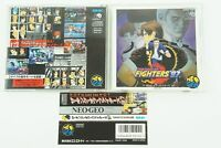 The King of Fighters '97 NCD SNK Neogeo CD Spine From Japan