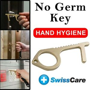 Germ Free No Touch Door Opener Button Pusher Key Chain sani key touch free