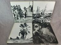 4 Time Life Books World War II - Philippines Fall of Japan Under Pacific Island