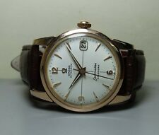 VINTAGE OMEGA SEAMASTER AUTOMATIC DATE 503 STEEL GOLD MENS USED 15230648 WATCH