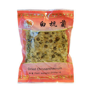 100g Getrocknete Chrysanthemen Blüten Golden Lily Dried Chrysanthenum China