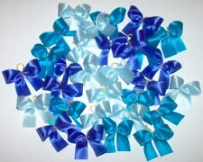 Dog Grooming Bows 30 all solid colored BLUE Dog Bows Boy Dog Bows Yorkie Poodle