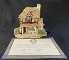 Lilliput Lane - Jones The Butcher 1993 Village Shops W/ Deeds Excellent! No Box