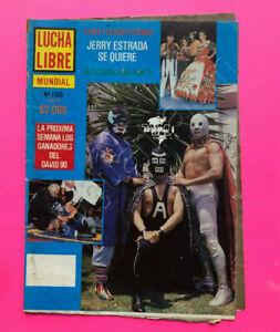 Mexican Lucha Libre wrestling Magazine EL SANTO ALCATRAZ  #1395 11 Mar 1991
