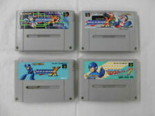 Nintendo Super Famicom Rockman X X2 X3 7 set Megaman Japan SFC SNES
