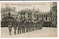 CPA-Carte Postale -France -Orléans-Fête de Jeanne d'Arc-Hommage militaire