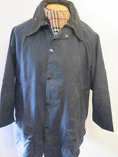"Barbour Beaufort  Waxed jacket - 2XL UK 18/20  44"" Euro 46-48 in Blue"