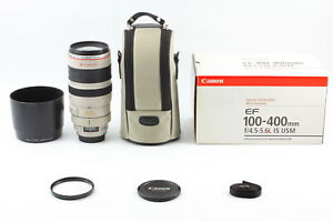 [Almost Unused BOXED] Canon EF 100-400mm F/4.5-5.6 L IS USM Zoom Lens From JAPAN