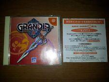 GRANDIA II 2 JAP JAPANESE JP SEGA JAPAN DC DREAMCAST VIDEOGAMES GAMES A