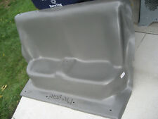 Tahoe Pro Gard Rear Police Prisoner Hard Plastic Seat 9C1 B4C 1A2 Fire Ems P71