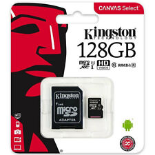 Scheda memoria KINGSTON Micro SD 128GB per Samsung Galaxy A5 2017 A520F CSK