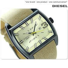DIESEL  LEATHER SQUARE COLLECTION WATCH DZ1703