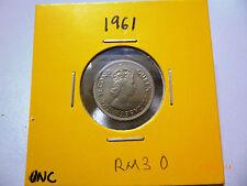 Malaya 5 Cents coin 1961 QEII - UNC