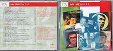 RARE 2 CD COLLECTOR 27T ITALY 1980 VOLS 1 & 2 RAMAZZOTTI/PAOLO CONTE/AMI STEWART