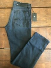 7 for All Mankind Slimmy MSTQ Wash Straight Leg Sz 34 BNWT