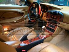 PORSCHE 911 996 CARRERA TURBO INTERIOR BURL WOOD DASH TRIM KIT SET 2002 2003 04