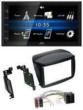 JVC 2din Bluetooth mp3 USB AUX autoradio per Fiat Doblo 'dal 10 OPEL COMBO DAL 12